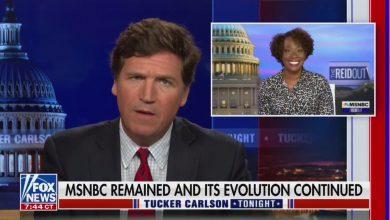 Tucker Carlson Rips MSNBC, Joy Reid, Rachel Maddow