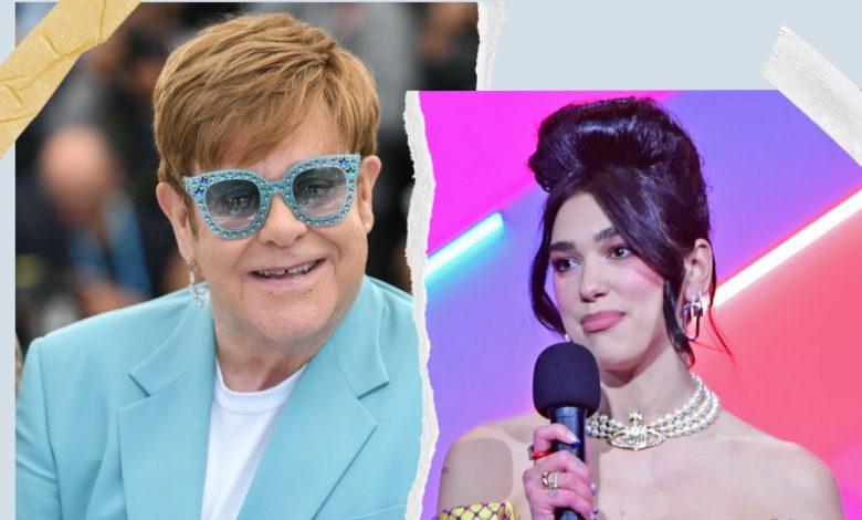 Dua Lipa, Elton John & Victoria Monet