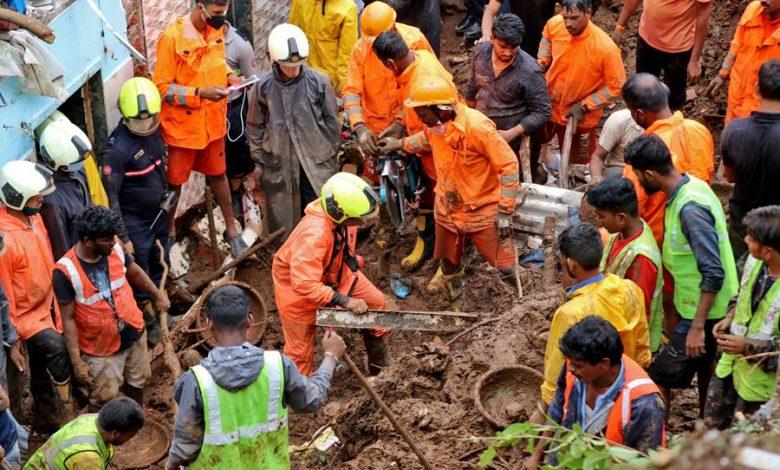 25 people died in Mumbai landslide caused by incessant rain