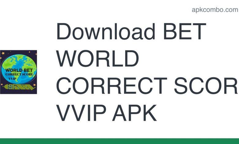 [Released] BET WORLD CORRECT SCORE VVIP