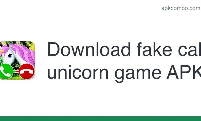 [apk_updated] fake call unicorn game