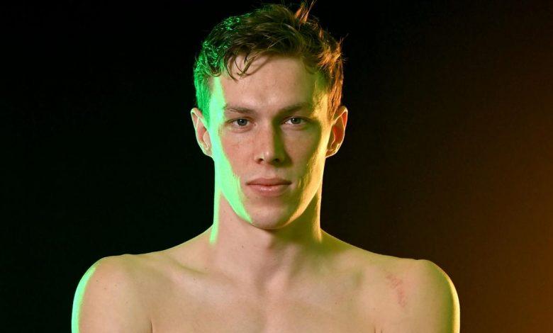 Aussie swimmer Zac Stubblety-Cook.