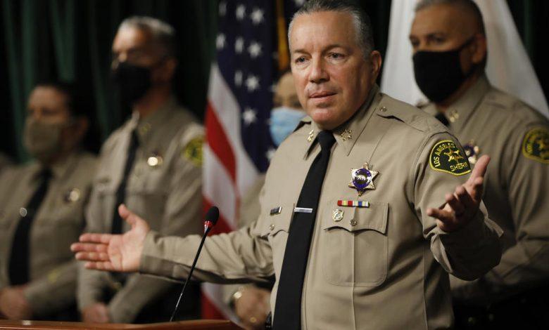 Los Angeles Sheriff's Department won't enforce county mask mandate