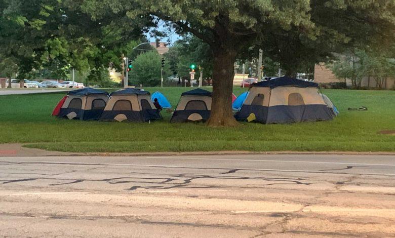 Homeless camp returns to Westport
