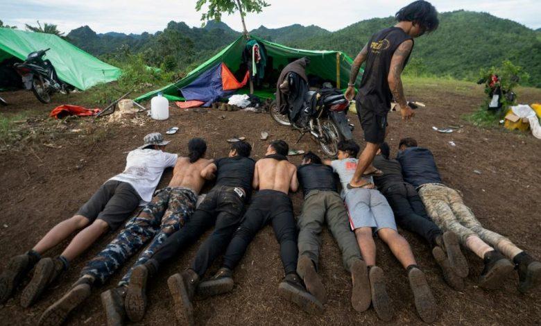 Walking With Myanmar's Anti-junta Fighters
