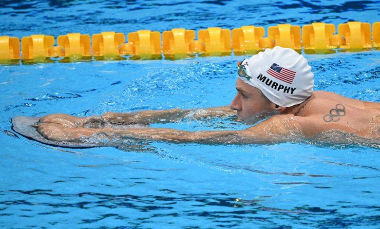 American Ryan Murphy takes silver in men's 200M backstroke