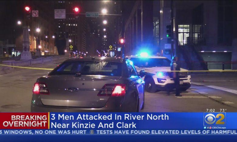 Three Men Attacked In River North Near Merchandise Mart – CBS Chicago