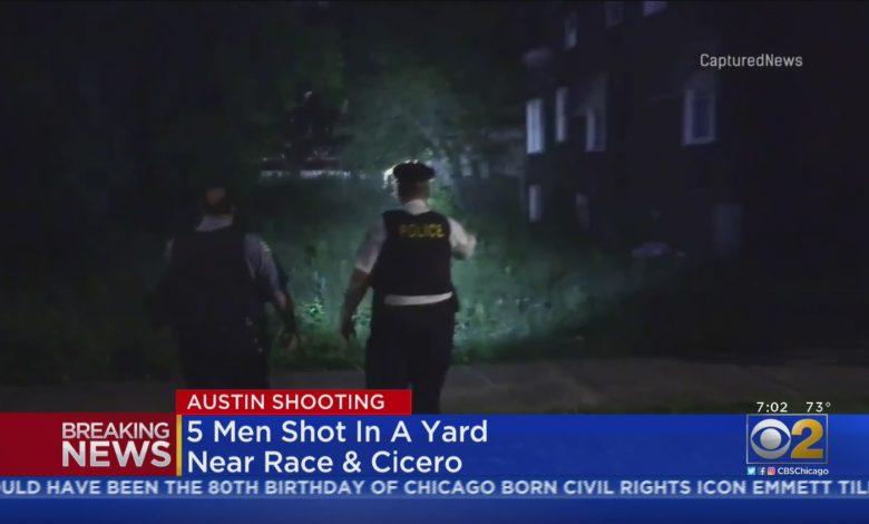 5 Men Shot In Yard In Austin – CBS Chicago