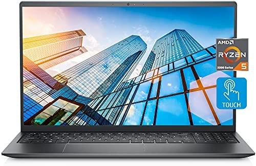"2021 Newest Dell Inspiron 5515 Touch Laptop, 15.6"" FHD LED Touchscreen, AMD Ryzen 5 5500U (>i7-1065G7), 16GB RAM, 1TB SSD, Webcam, Backlit Keyboard, Fingerprint Reader, WiFi 6, Win 10 Home"