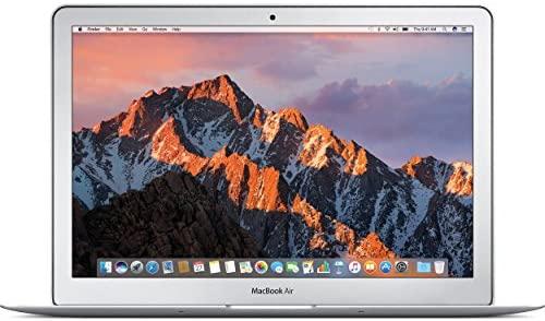 """Apple MacBook Air 13.3"""" MQD32LL/A, Intel Core i5-5350U 1.8Ghz, 8GB RAM, 256GB SSD, Silver (Renewed)"""