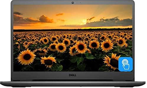 "2021 Newest Dell Inspiron 15 3000 Series 3505 Laptop, 15.6"" Full HD Touchscreen, AMD Ryzen 5 3450U Quad-Core Processor, 8GB DDR4 RAM, 256GB PCIe NVMe SSD, Webcam, Wi-Fi, HDMI, Windows 10 Home, Black"