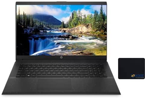 "2021 Newest HP 17z Laptop, 17.3"" HD+ Screen, AMD Athlon Gold 3150U Processor, 32GB DDR4 RAM, 512GB PCIe SSD + 1TB HDD, Wi-Fi, Webcam, Zoom Meeting, Windows 10 Home, Black"