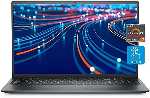 2021 Newest Dell Inspiron 15 Laptop, 15.6 FHD LED-Backlit Touch Display, AMD Ryzen 7 5700U, 32GB DDR4 RAM, 2TB PCIe SSD, HDMI, Webcam, Backlit Keyboard, WiFi, Bluetooth, FP Reader, Win10 Home