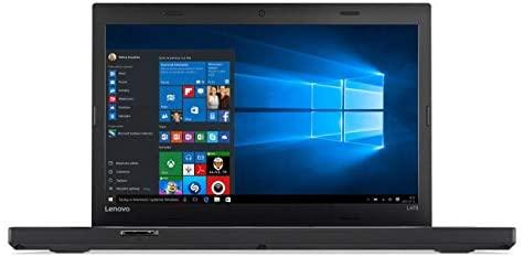 """Lenovo ThinkPad L470 Windows 10 Pro - i5-6300U, 256GB SSD, 8GB RAM, 14"""" IPS FHD (1920x1080) Matte Display, Intel HD Graphics 520 (Renewed)"""
