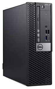 Dell OP7060SFFXP0PY OptiPlex 7060 SFF Desktop Computer with Intel Core i5-8500 3 GHz Hexa-core, 8GB RAM, 256GB SSD