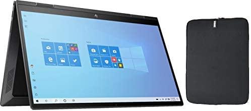HP Envy X360 2-in-1 15.6 Inch FHD Touchscreen Laptop Bundle Woov Sleeve, AMD Six-Core Ryzen 5 4500U (Beat i7-7500U), 16GB RAM, 256GB PCIe SSD, Backlit Keyboard, Fingerprint Reader, Windows 10