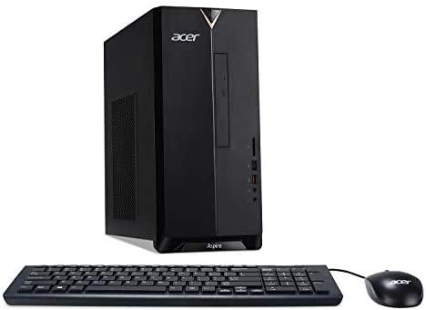 Acer Aspire TC-885-UR14 Desktop, 8th Gen Intel Core i5-8400, 8GB DDR4, 512GB SSD, 8X DVD, 802.11ac WiFi, Windows 10 Home