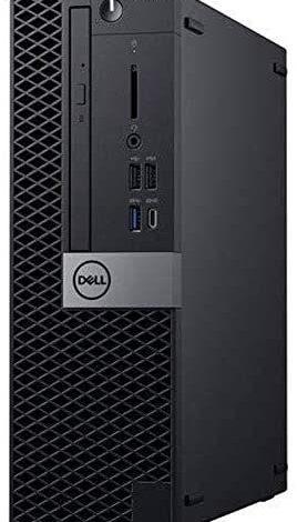 Dell OptiPlex 5070 Desktop Computer - Intel Core i5-9500 - 8GB RAM - 500GB HDD - Small Form Factor