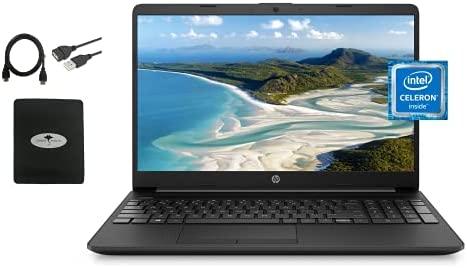 "2021 Newest HP 15.6"" FHD 1080P IPS Anti-Glare Laptop, Intel Processor N4020, 16GB DDR4 RAM, 1TB SSD, Online Meeting Ready, Ethernet, WiFi, Webcam, HDMI, Fast Charge, Win10 S, w/GM Accessories"