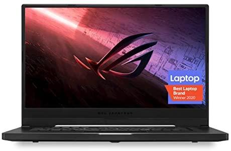 "ROG Zephyrus G15 (2020) Ultra Slim Gaming Laptop, 15.6"" 240Hz FHD, GeForce RTX 2060, AMD Ryzen 7 4800HS, 16GB DDR4, 1TB PCIe NVMe SSD, Windows 10 Pro, GA502IV-XS76"
