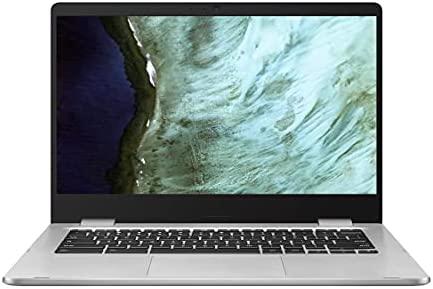 "Latest_ASUS Chromebook Laptop, 14"" HD Nano-Edge Display, Intel Dual Core Celeron N3350, 4GB DDR4, 64GB eMMC, Chrome OS, Google Classroom Ready, Webcam, Wi-Fi, Bluetooth, Type-C, Student / Business"