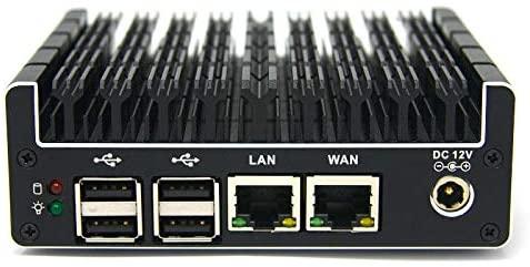 Protectli Vault 2 Port, Firewall Micro Appliance/Mini PC - Intel Dual Core, AES-NI, 8GB RAM, 120GB mSATA SSD