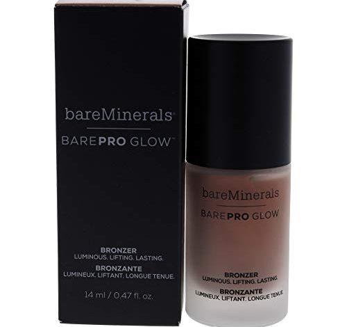 Bare Escentuals Barepro Glow Bronzer Liquid Face Bronzer Makeup - Warmth, 0.47 Oz, Multi