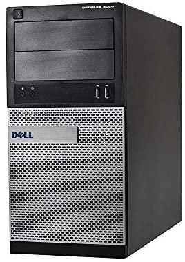 Dell Optiplex 3020 Tower Gaming Desktop Computer - Quad Core i7 4th Gen 3.4 GHz, 8GB RAM, 256GB SSD, NVIDIA GT 1030 2GB DDR5, Keyboard, Mouse, WiFi Adapter, Windows 10 Professional(Renewed)