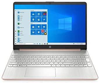 "HP 15-dy0015ds 15.6"" Micro-Edge Laptop Intel Celeron N4000 4GB 256GB Webcam Windows 10 (Renewed)"