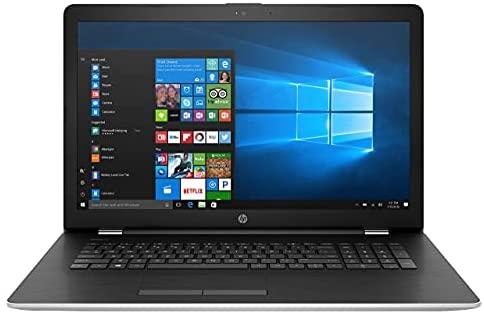 "HP 17-bs061st 17.3"" HD+ Notebook Laptop, Intel core i3-7100U 2.4GHz, 8GB DDR4, 1TB HDD, Card Reader, HDMI, HD Graphics 620, Bluetooth, Wifi, Windows 10 Home (Renewed)"