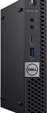Dell Optiplex 7060 Micro MFF Desktop PC Intel i7-8700T 6-Cores 2.40GHz 16GB DDR4 128GB M.2 NVMe SSD(Boot)+512 GBSSD, WiFi BT HDMI,Windows 10 Pro (Renewed) …