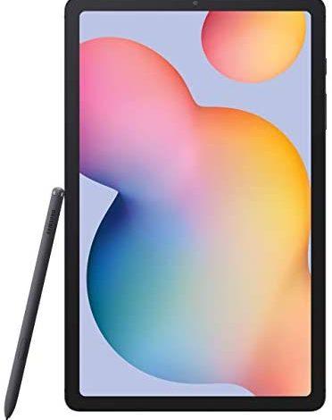 Samsung Galaxy Tab S6 Lite 10.4-inch , 64GB WiFi Tablet Oxford Gray - SM-P610NZAAXAR - S Pen Included (Renewed)
