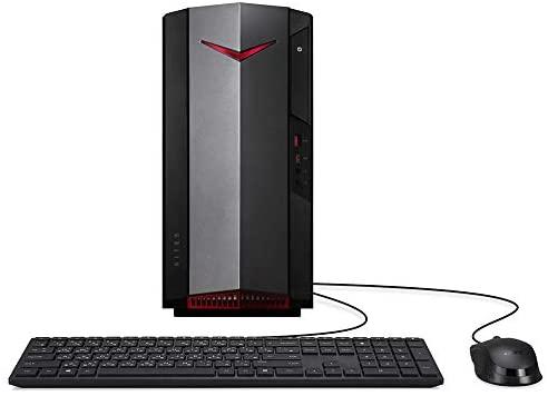 Mytrix Nitro N50 1650 by_Acer Gaming Desktop PC, Intel 6-Core i5-10400 Processor, GeForce GTX 1650, 16GB RAM, 512GB SSD+1TB HDD, Wi-Fi 6, HDMI/DVI, Ethernet, Win 10