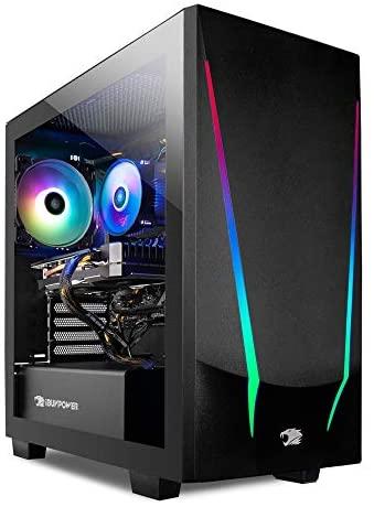 iBUYPOWER Gaming PC Computer Desktop Trace 4 9310 (AMD Ryzen 5 3600 3.6GHz, AMD Radeon RX 5500 XT 4GB, 8GB DDR4 RAM, 240GB SSD, WiFi Ready, Windows 10 Home) (Renewed)