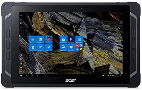 "Acer Enduro T1 ET110-31W-C2KN Rugged Tablet, 10.1"" WXGA IPS Touch, Intel Celeron N3450, 4GB LPDDR4, 64GB eMMC, WiFi-5, Front 2MP Webcam, Rear 5MP Webcam, Portfolio Keyboard, Windows 10 Professional"