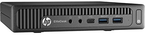 HP EliteDesk 800 G2 Mini Desktop PC: Intel Core i5-6500T Quad-Core 2.50GHz   500GB HDD   8GB RAM   Windows 10 Professional (Renewed)