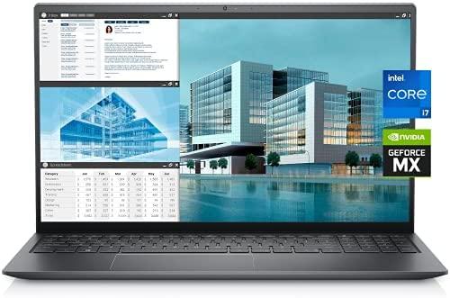 """2021 Newest Dell Business Laptop Vostro 5510, 15.6"""" FHD LED-Backlit Display, i7-11370H, GeForce MX450, 64GB RAM, 1TB SSD, Webcam, Backlit Keyboard, Fingerprint Reader, WiFi6, Thunderbolt, Win10 Pro"""