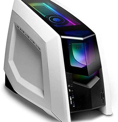 Mytrix Pro Gaming PC Computer Desktop Revolt 2 Liquid Cooled Intel i5-10600KF 6-Core Overclock, GTX 1660 Super 6GB, 32GB RAM, 240GB SSD, 1TB HDD, Wi-Fi, RGB, Win 10 (Renewed)