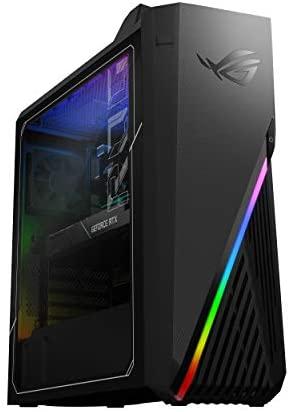 ROG Strix GA15DH Gaming Desktop PC, AMD Ryzen 7 3800X, GeForce RTX 2070 SUPER, 16GB DDR4 RAM, 512GB PCIe SSD + 1TB HDD, Wi-Fi 5, Windows 10 Home, GA15DH-AH772