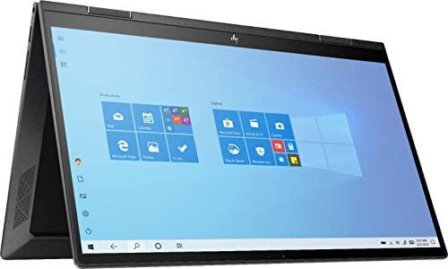 """Newest HP Envy X360 2 in 1 15.6"""" FHD Touchscreen Laptop, AMD 4th Gen 8-Core Ryzen 7 4700U (Beat i7-8550U), 8GB RAM, 512GB PCIe SSD, Backlit Keyboard, Fingerprint Reader, Windows 10"""
