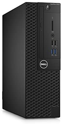 Dell 6Y9TM OptiPlex 3050 Small Form Factor Desktop Computer, Intel Core i5-7500, 8GB DDR4, 500GB Hard Drive, Windows 10 Pro,Black