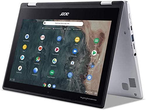 "2020 Acer Chromebook Spin 311 11.6"" HD Touchscreen Convertible Laptop PC, Intel Celeron N4020 Dual-Core Processor, 4GB LPDDR4 RAM, 32GB eMMC, Webcam, 802.11ac, Bluetooth 5.0, Google Chrome"