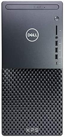 2021 Latest Dell XPS 8940 Desktop PC - 11th Gen Intel Core i7-11700 up to 4.9GHz CPU, 64GB RAM, 2TB SSD + 2TB HDD, Intel UHD Graphics 750, Killer Wi-Fi 6, 500W PSU, DVD-RW, Wireless Mouse, Windows10