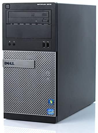 Dell OptiPlex 3010 MT Desktop PC - Intel Core i3-3210 3.2GHz, 8GB, 500GB HDD, DVDRW, Windows 10 Professional (Renewed)