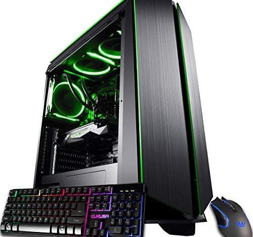 CUK Mantis Custom Gamer PC (Liquid Cooled AMD Ryzen 9, 64GB RAM, 1TB NVMe SSD + 4TB HDD, NVIDIA GeForce RTX 3090 24GB, 850W Gold PSU, AC WiFi, Windows 10 Home) Tower Gaming Desktop Computer