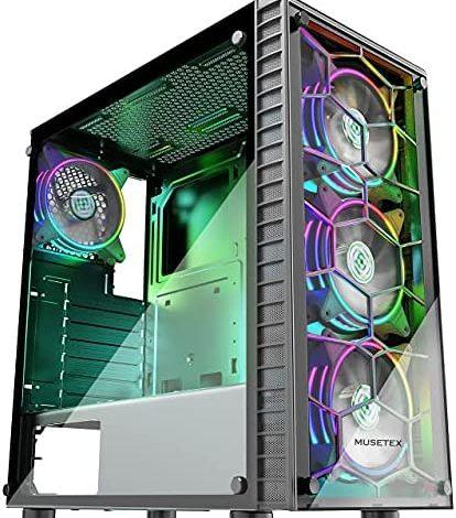 Gaming Desktop - 10th Gen Core i5-10400F 2.9GHz Six-Core CPU, GTX 1660 Super 6GB GDDR6 Graphics, 16GB DDR4 Memory, 1TB SSD, WiFi+Bluetooth