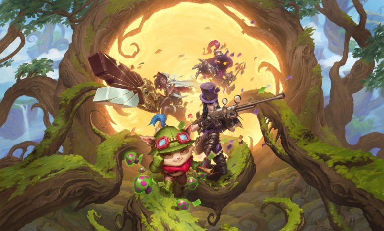 Beyond the Bandlewood trailer highlights Legends of Runeterra's final region