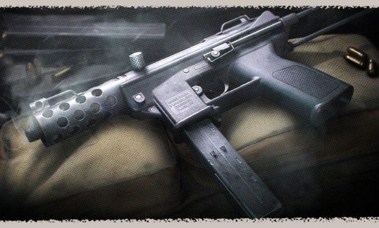 Black Ops Cold War TEC-9 attachments