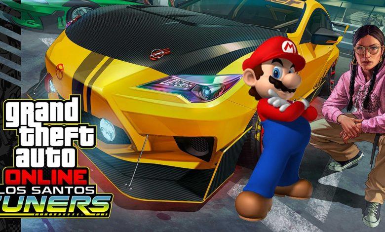 Grand Theft Auto Online Players Recreate Mario Kart Race