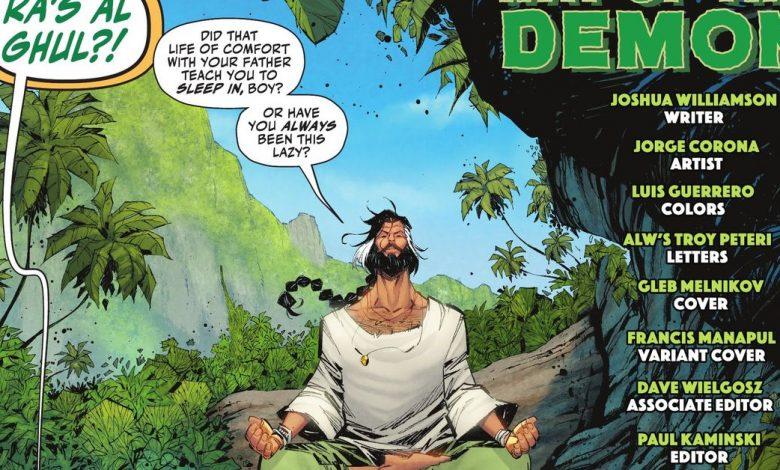 Batman villain Ra's al Ghul gets a new comics look: Sexy Grandpa